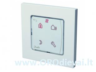 Šildymo valdymo sistema Danfoss Icon, termostatas 230V, programuojamas, potinkinis