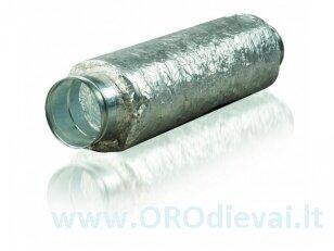 Triukšmo slopintuvas Ø125mm, 1.2m lankstus SRP125-1200
