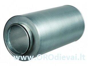 Triukšmo slopintuvas Ø125mm, 1.2m standus SR125-1200