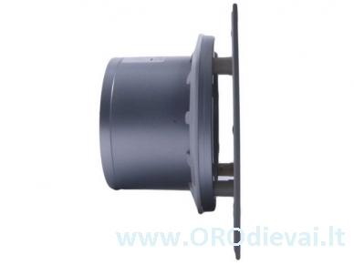 Tylus stiklinis MMotors guolinis ventiliatorius MMP06C serijos be laikmačio juodas su sidabru 4