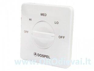 Ventiliatoriaus 3 greičių jungiklis DOSPEL RPR300
