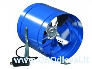 Žemo slėgio ašinis Ø200 ventiliatorius Vents VKOMz200