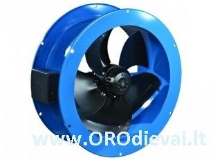 Žemo slėgio ašinis Ø250 ventiliatorius Vents VKF2E250